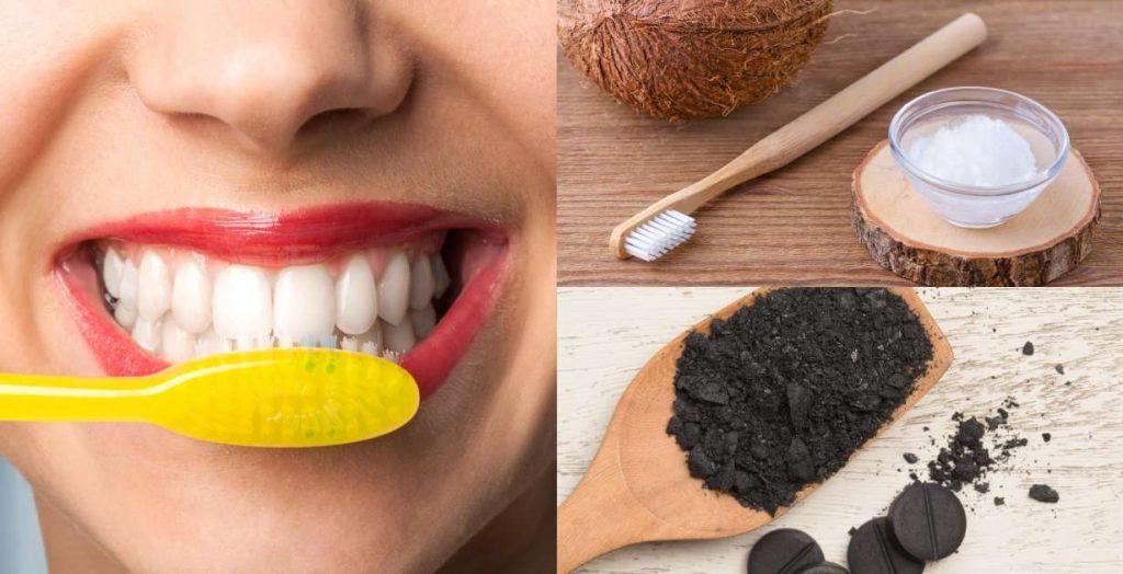Blanquear los dientes de forma natural y rapida